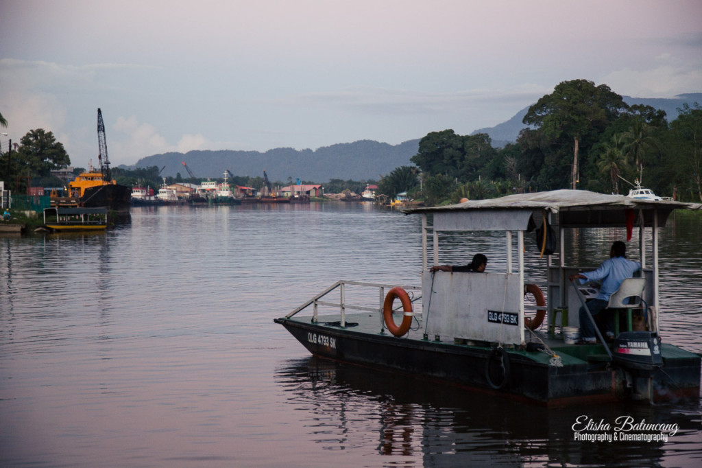 Ferry Boat - Lawas Town